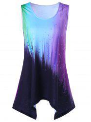 Star Sleeveless Ombre T-Shirt