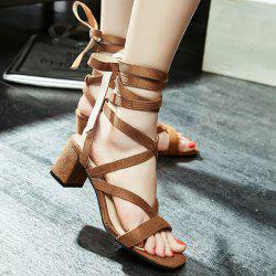 Lace Up Strappy Sandals