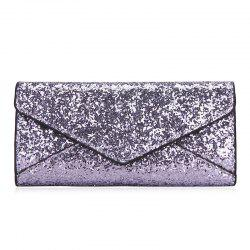 Sequin 2 Pieces Clutch Wallet