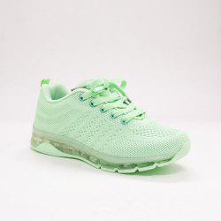 Mesh Breathable Athletic Shoes - LIGHT GREEN