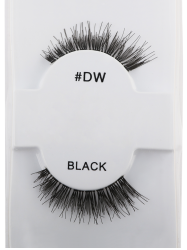 Long Extensions Dense Fake Lashes - BLACK