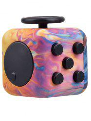 Novelty EDC Toy Stress Relief Fidget Magic Cube - PINK