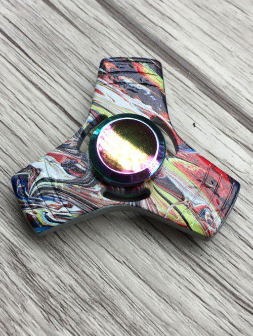 Stress Relief Toy Colorful Triangle Fidget Spinner