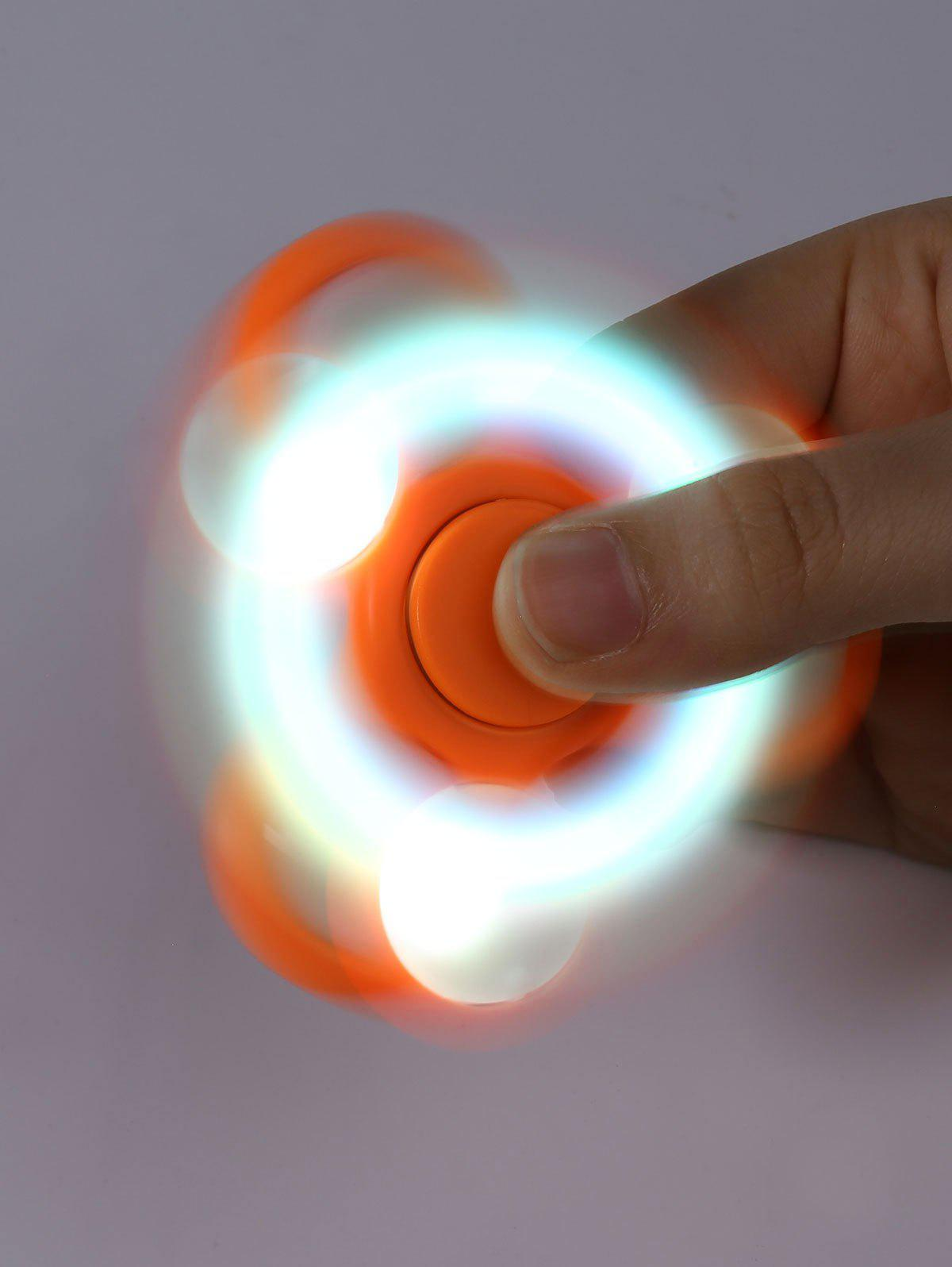 Flash Triangle Fidget Toy Finger Spinner
