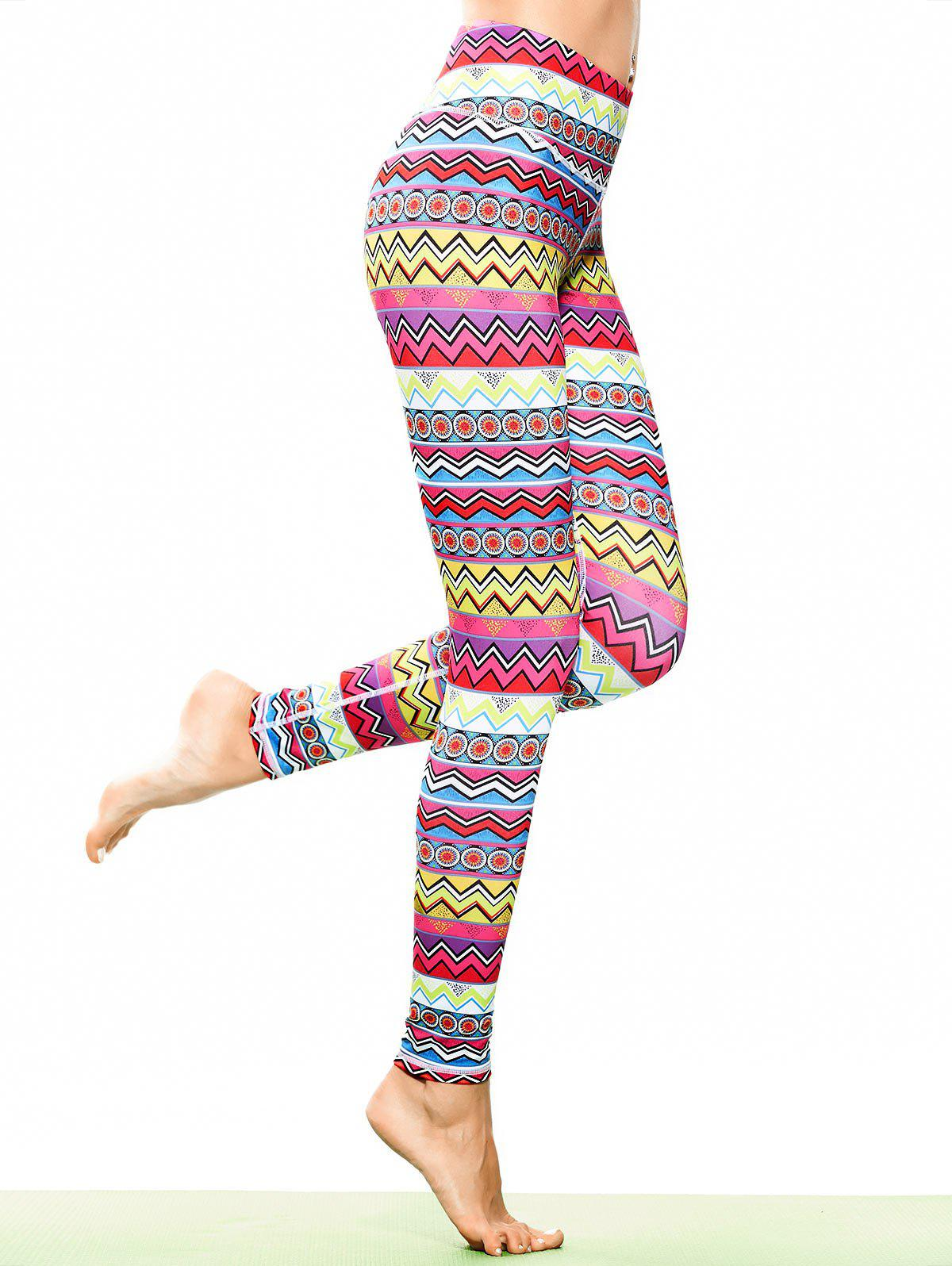 Leggings sportifs, tunique et multicolores