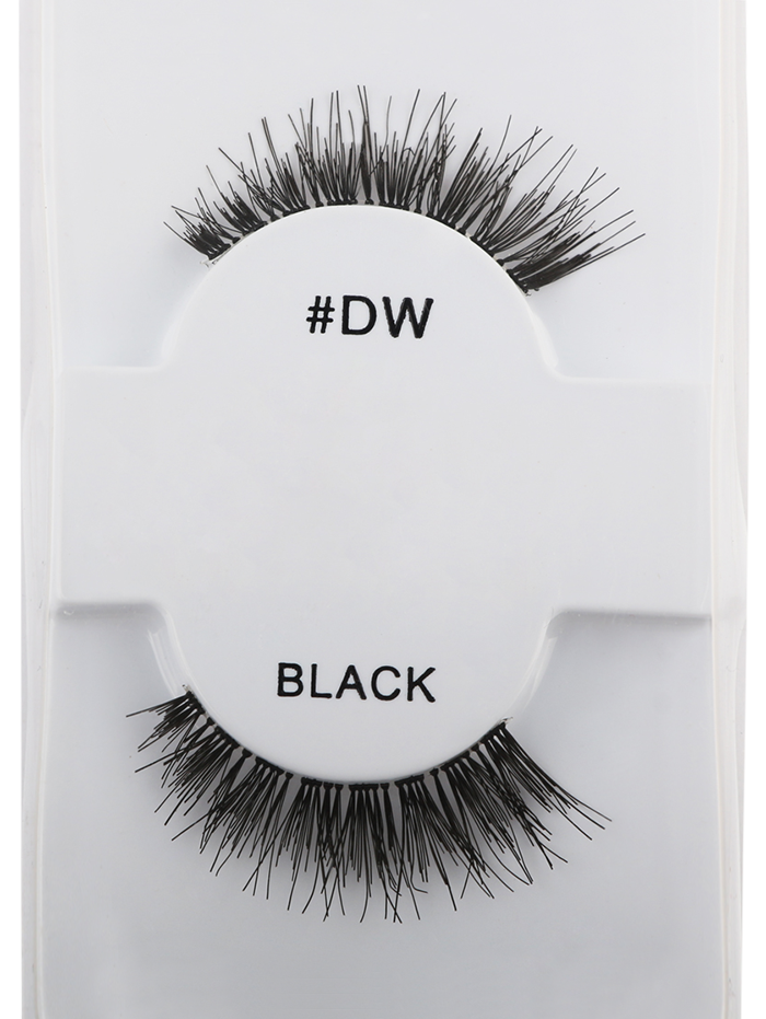 Long Extensions Dense Fake LashesBEAUTY<br><br>Color: BLACK; Category: False Eyelashes; Brush Hair Material: Synthetic Hair; Features: Professional; Season: Fall,Spring,Summer,Winter; Weight: 0.0070kg; Package Contents: 1 x False EyeLashes(Pair);