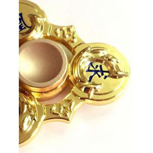 Stress Relief EDC Toy Fidget Spinner Finger Gyro - GOLDEN
