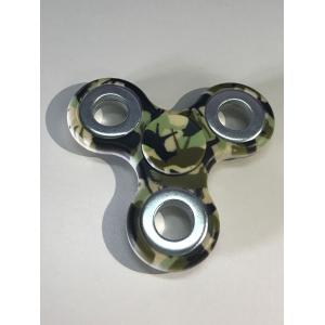 Camouflage Finger Gyro Focus Toy Hand Spinner -