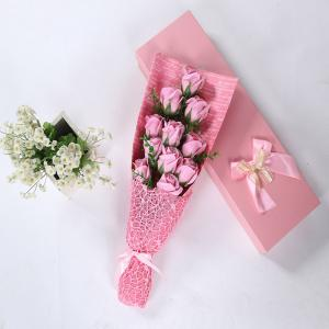 11 PCS Handmade Soap Rose Mother's Day Gift Artificial Flowers -