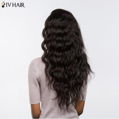 New Siv Hair Free Part Long Loose Wave Perm Dyed Lace Front Human Hair - 22INCH BLACK Mobile