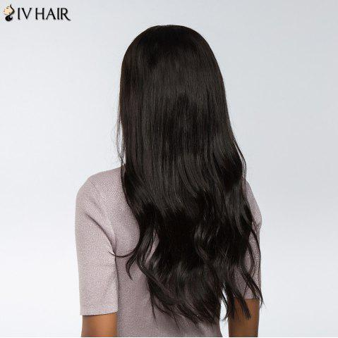 Store Siv Hair Dyed Perm Free Part Natural Long Straight Lace Front Human Hair Wig - 22INCH BLACK Mobile