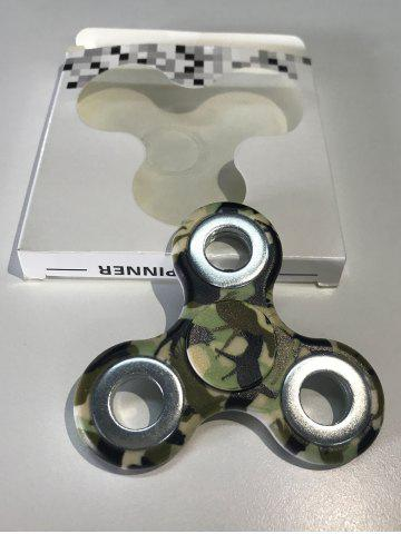 Sale Camouflage Finger Gyro Focus Toy Hand Spinner - ARMY GREEN CAMOUFLAGE  Mobile