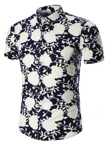 Shops Plus Size Short Sleeve Hawaiian Shirt