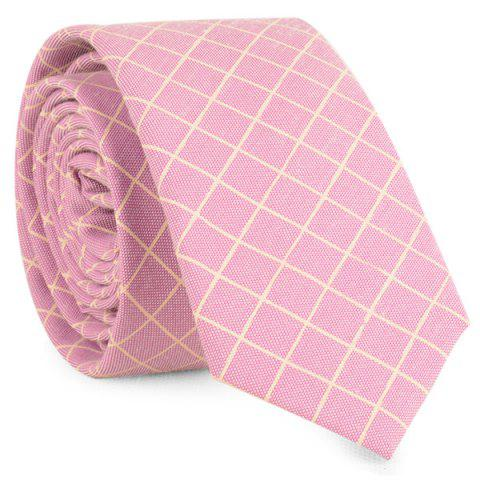 Affordable Cotton Blended Plaid Neck Tie