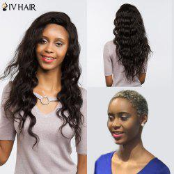 Siv Hair Free Part Long Loose Wave Perm Dyed Lace Front 100% Human Hair