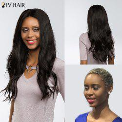 Siv Hair Dyed Perm Free Part Natural Long Straight Lace Front 100% Human Hair Wig