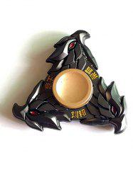 Liu Bang Three Eagle Stress Relief Toy Fidget Spinner Gyro - BLACK