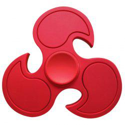 Fiddle Toy Stress Relief Flying Wheel Fidget Spinner - DEEP RED