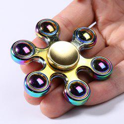 Colorful Beads Fidget Hand Spinner Stress Relief Toy -