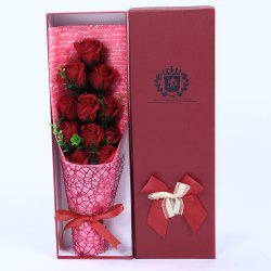11 PCS Handmade Soap Rose Mother's Day Gift Artificial Flowers