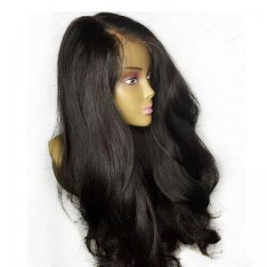 Lace Front Thick Ultra Long Side Part Natural Straight Synthetic Wig -