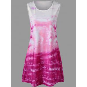 Tie Dye Mini Dress