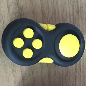 Stress Relief EDC Finger Toy Fidget Pad Gamepad - YELLOW