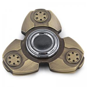 Stress Relief Toy Triangle Fidget Metal Spinner -
