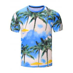 Copie de noix de coco 3D Hawaiian T-Shirt