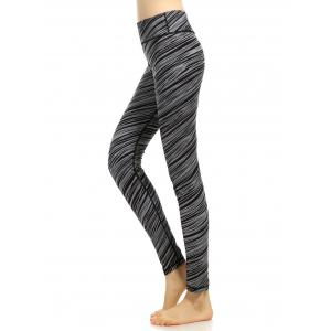Quick-Dry High Rise Funky Gym Leggings