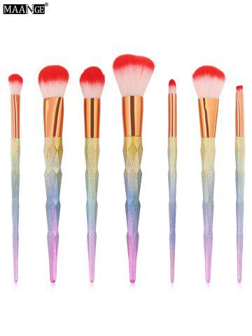 Unique Unicorn Conical Rainbow Makeup Brushes Kit - COLORFUL  Mobile