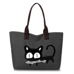 Canvas Animal Print Handbags -