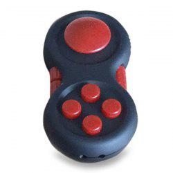 Stress Relief EDC Finger Toy Fidget Pad Gamepad - RED