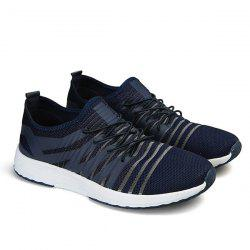 Mesh Stripes Casual Shoes