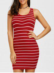 Bodycon Striped Tank Dress