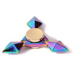 Fidget Toys Colorful Rhombus Metal Triangle Hand Spinner