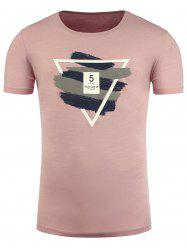 Geometric Graphic Print Short Sleeve T-Shirt