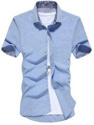 Slim Fit Button Up Shirt