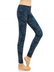 High Waist Elastic Funky Gym Leggings