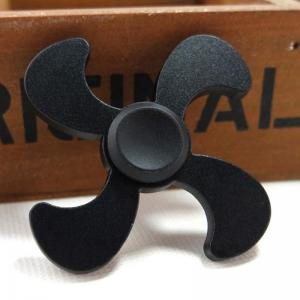Stress Relief Toy Metal EDC Fidget Spinner - BLACK 7*7*1.3CM
