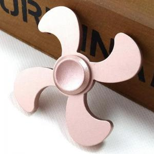 Stress Relief Toy Metal EDC Fidget Spinner - ROSE GOLD 7*7*1.3CM