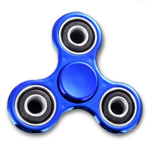 Latest Triangle Finger Gyro Fidget Spinner Stress Relief Toy BLUE