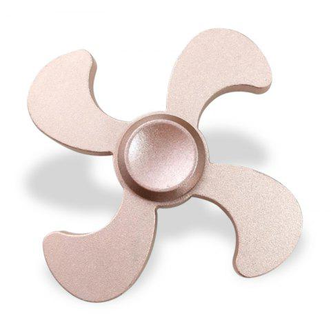 Online Stress Relief Toy Metal EDC Fidget Spinner ROSE GOLD 7*7*1.3CM