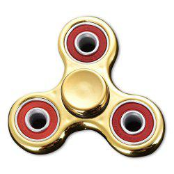 Triangle Finger Gyro Fidget Spinner Stress Relief Toy - YELLOW