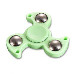 Stress Relief Toy Plastic Finger Gyro Steel Ball Fidget Spinner
