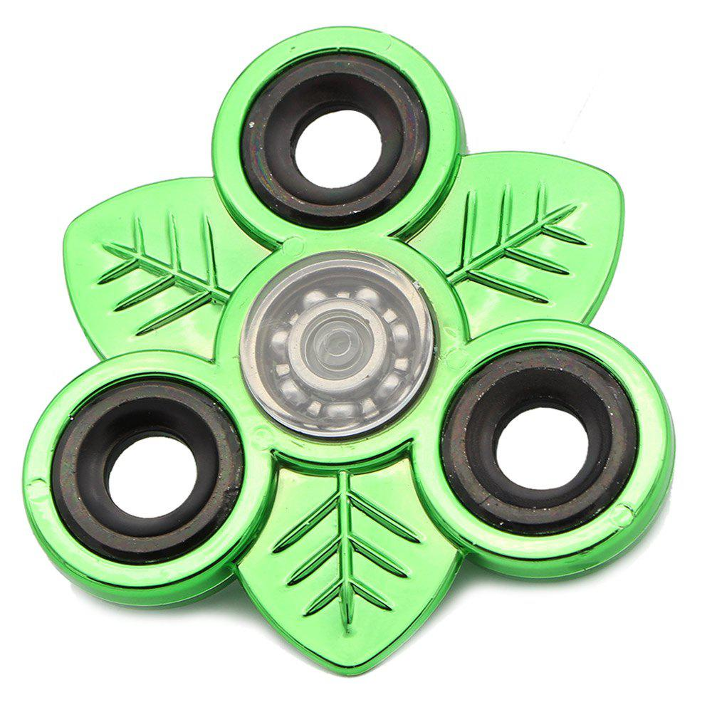 Sale Leaves EDC Toy Stress Relief Finger Gyro Fidget Spinner