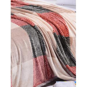 Plaid Print Super Soft Sofa Nap Bedding Throw Blanket - MULTICOLOR FULL