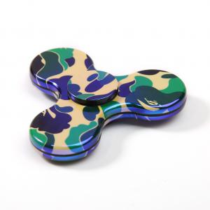 Focus Toy Colorful Triangle Fidget Spinner - ARMY GREEN