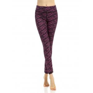 Active Breathable Patterned Leggings - Tutti Frutti - Xl