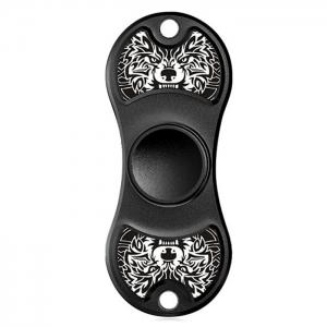 Aluminium Alloy Patterned Fidget Spinner EDC Fiddle Toy